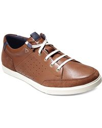 Cole Haan Owen Sport Leather Sneakers - Lyst