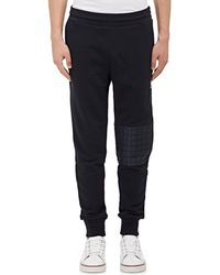 Moncler Gamme Bleu | Quilted-knee Sweatpants | Lyst