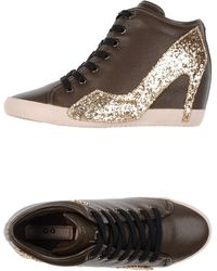 Olo High-Tops & Trainers brown - Lyst