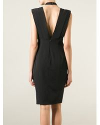 Violante Nessi - Draped Front Dress - Lyst