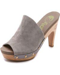 Flogg - Socialite Mules - Grey - Lyst