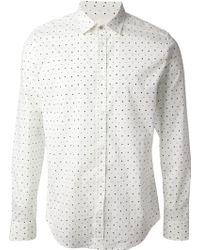 Diesel Star Print Shirt - Lyst