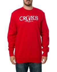 Crooks And Castles The Gleamin Sweatshirt - Lyst