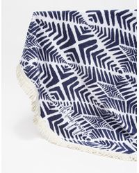 Need Supply Co. Paradis Round Towel blue - Lyst