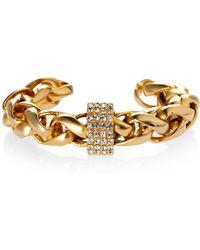 Janis By Janis Savitt | Janis Janis Savitt Gold-Tone Twisted Cuff Bracelet | Lyst