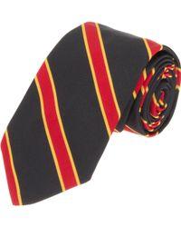 Black Fleece By Brooks Brothers - Regimental Stripe Tie - Lyst