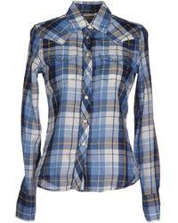 Denim & Supply Ralph Lauren Blue Shirt - Lyst