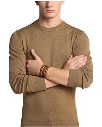 BOSS Orange - Leather Bracelet: 'mid' - Lyst
