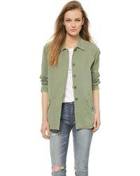 Monrow Heritage Vintage Jacket - Camo - Lyst
