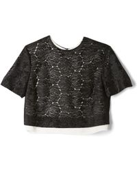A.L.C. Thompson Lace Top - Lyst