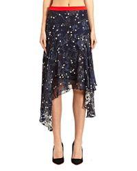 Preen New Season - Women S Printed Devore Valley Skirt - Lyst