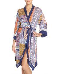 Bollydoll | Print Modal Robe | Lyst