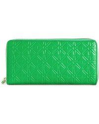 Comme Des Garçons 'Colour Embossed A' Long Zip-Around Wallet - Lyst