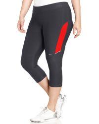 Nike Plus Size Dri-fit Active Capri Leggings - Lyst