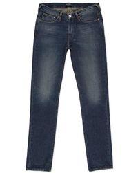 Paul Smith Slim-Fit Antique-Wash Blue Jeans - Lyst