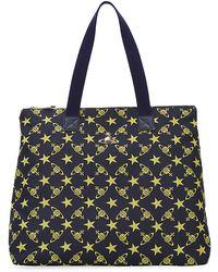 Vivienne Westwood Stella Zip Shopper blue - Lyst