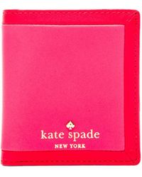 Kate Spade Small Stacy Wallet - Lyst