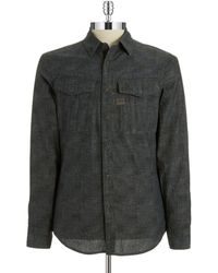 G-star Raw Military Button Down - Lyst