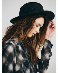Free People Topanga Distressed Leather Rancher - Lyst