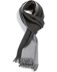 BOSS | 'marios' Wool Blend Scarf | Lyst