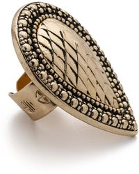 Samantha Wills - Bohemian Bardot Armour Ring - Antique Gold - Lyst