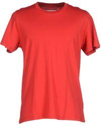 Maison Margiela | red T-shirt | Lyst