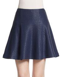 Nanette Lepore Smitten A-Line Skirt - Lyst