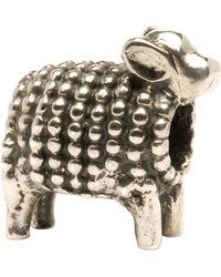 Trollbeads - 'lamb' Silver Bead - Lyst