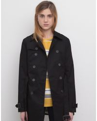 Pull&Bear Trench Coat With A Belt - Lyst