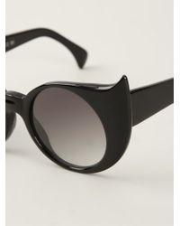 Barn's - 'eye-liner Frame' Sunglasses - Lyst