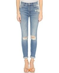 Mother Candice Swanepoel X Stunner Jeans - Hijacking The Runway - Lyst
