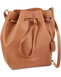 Kenneth Cole - Dover Street Drawstring Bucket Bag - Lyst