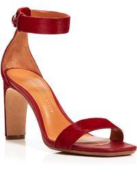 10 Crosby Derek Lam Ankle Strap Sandals - Tilden High Heel - Lyst