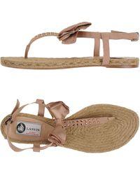 Chaussures - Espadrilles Lanvin cgZXcEG