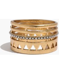 Madewell Openpoint Ring - Lyst