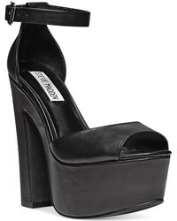 Steve Madden Womens Whitman Twopiece Platform Sandals - Lyst