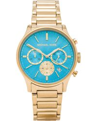 Michael Kors Gold watches - Lyst