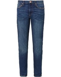 Etoile Isabel Marant Toya Lowslung Slouch Skinny Jeans - Lyst