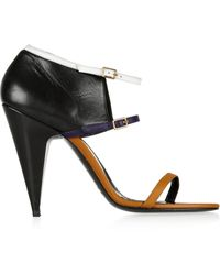 Pierre Hardy Colorblock Leather Sandals - Lyst