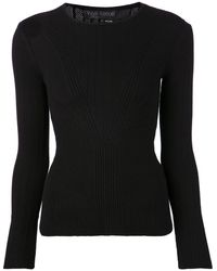 Yigal Azrouel Ribbed Top - Lyst