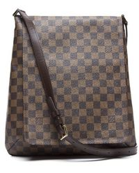 Louis Vuitton Preowned Damier Ebene Mussette Shoulder Bag - Lyst