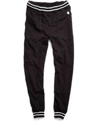 Todd Snyder X Champion   Jersey Sweatpant In Black   Lyst