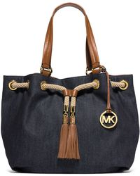 MICHAEL Michael Kors Large Gathered Tote - Lyst