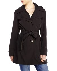 London Fog Belted Trench Coat - Lyst
