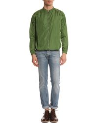 Carven Green Jacket With Contrasting Back green - Lyst