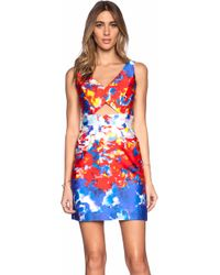 Milly Cut Out Dress - Lyst