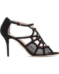 Charlotte Olympia   Cobweb Cut-Out Sandals   Lyst