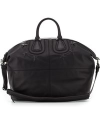 Givenchy Mens Stardebossed Nightingale Satchel Bag Black - Lyst