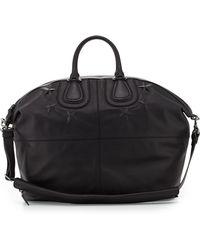 Givenchy Men'S Star-Debossed Nightingale Satchel Bag - Lyst