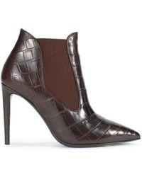 Ralph Lauren Collection Crocodile Tallen Boot - Lyst